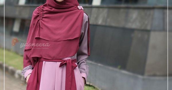 Gamis Yasmeera Naila Dress N3 Baju Gamis Wanita Busana