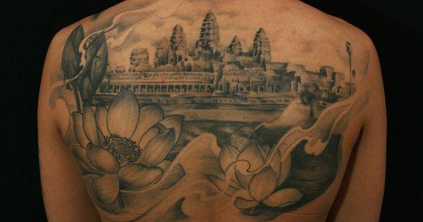 seven eight tattoo angkor wat tattoo toronto tattoo by lemur seven eight by lemur. Black Bedroom Furniture Sets. Home Design Ideas