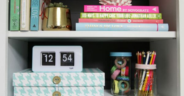 I Heart Organizing - Collection of Organization Ideas (shown here is a
