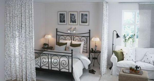 einzimmerwohnung einrichten tolle und praktische. Black Bedroom Furniture Sets. Home Design Ideas