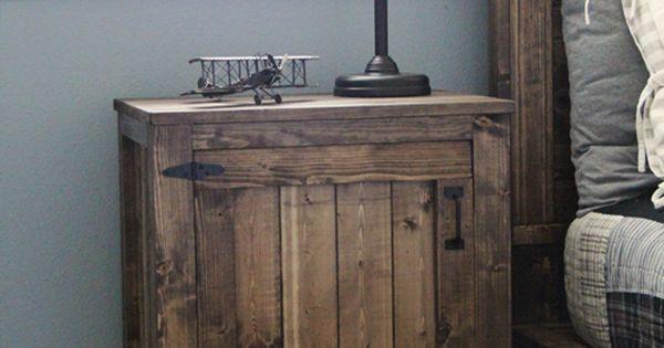 DIY end tables or nightstands.