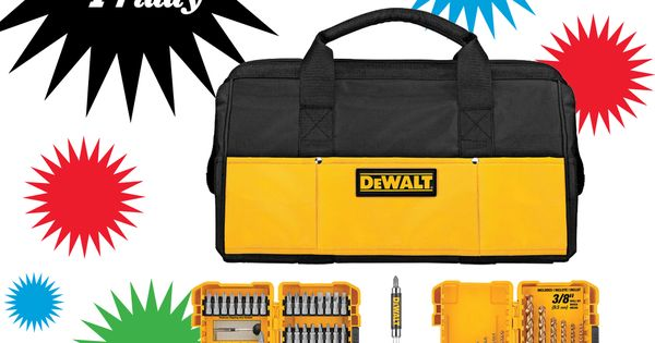 lowe s has the tools and the prices you 39 re looking for this black friday dewalt bit set our. Black Bedroom Furniture Sets. Home Design Ideas