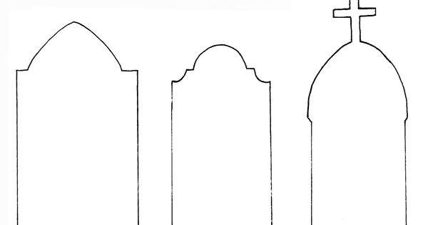 Tombstone outline images reverse search for Tombstone templates for halloween