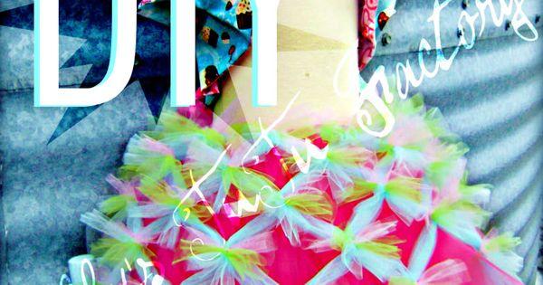 DIY criss cross tutu tutorial girl ballet cute halloween costume