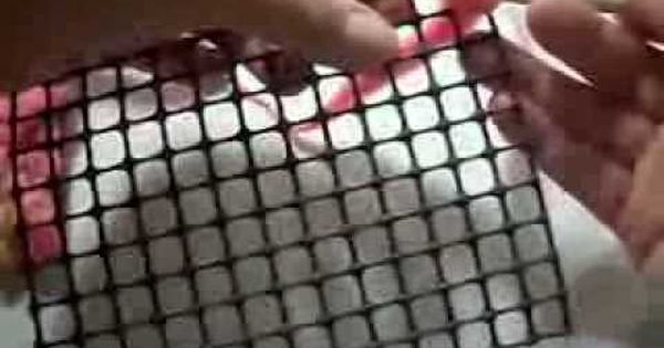 Instrucciones aguja nuk para hacer alfombras youtube knitting time pinterest macrame - Como hacer alfombras de nudos ...