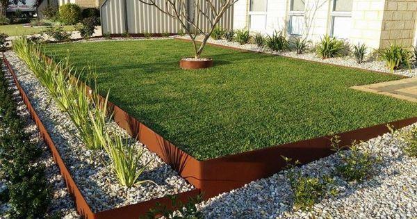 FormBoss Metal Garden Edging Corten ZAM Galvanised Other Garden