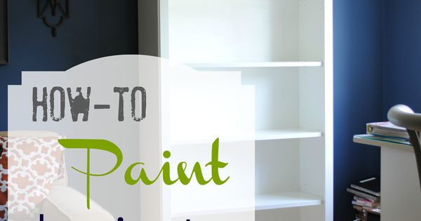 How-To Paint Laminate Furniture - suddenly a whole new world of diy