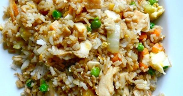 Better-Than-Takeout Chicken Fried Rice: I don't know what sort of magic sauce