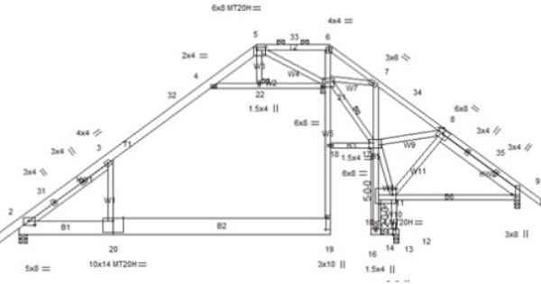 Crazy And Complicated Truss Designs Design Roof Framing Roof Trusses