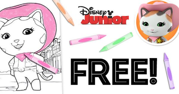 Free Sheriff Callie Coloring Pages Coloring Pages Color Sheriff Callie