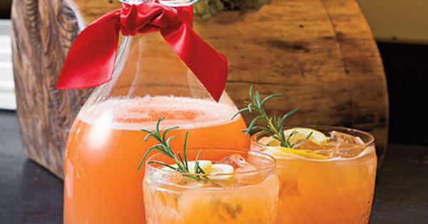 Christmas Brunch Drink Recipes - Rudolph's Tipsy Spritzer When you need a