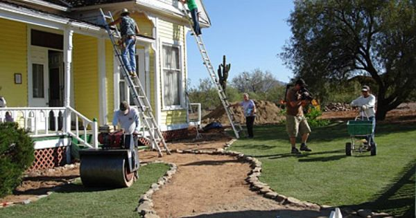Isn T Redesigning Your Front Lawn Fun If You Need Help Choosing With Type Of Grass Is Best For Your Lawn And Landscape Front Lawn Landscaping Sod Installation