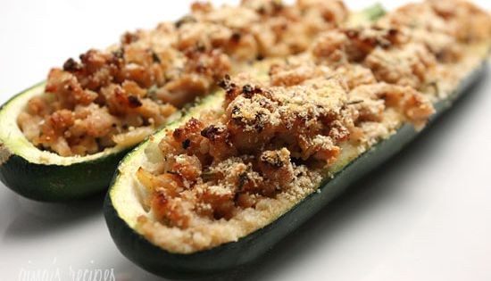 Turkey Stuffed Zucchini - Weight Watcher health food better health solutions healthy