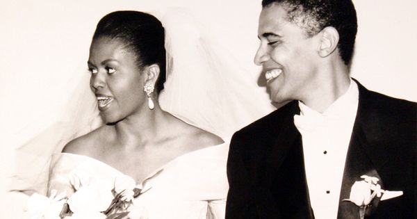 """Happy 20th anniversary, Barack. Thank you for being an incredible partner, friend,"