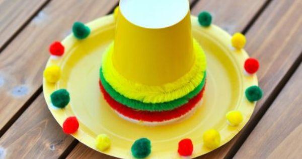 Sombrero Craft | Cinco de Mayo/Hispanic | Pinterest ...