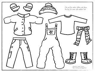 Sarah Pecorino Illustration Printable Winter Dress Up Boy Winter Dresses King Outfit Winter Preschool