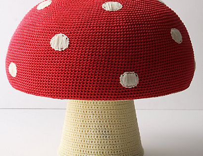 DIY Anthropologie Mushroom Stool - Perfect for a kids room!