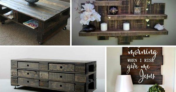 M s de 60 ejemplos de muebles hechos con palets tes hay - Muebles hechos de palets ...