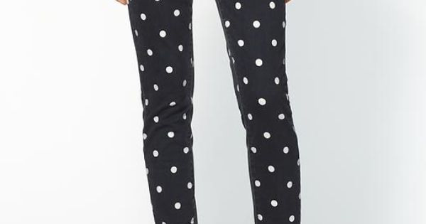 Paige Denim polka dot pants