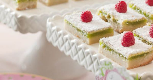 Lime Bars with a Macadamia Nut Crust | Limes, Crusts and Bar