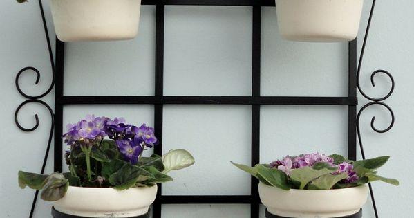 Treli a para jardim vertical 45x60 pintura for Jardin vertical mercadolibre