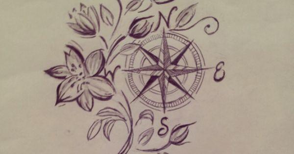 Rosa De Los Vientos Tumblr Rosa De Los Vientos Compass Tattoo Rosa De Los Vientos Dibujo