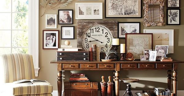 love this collage of different things home decor