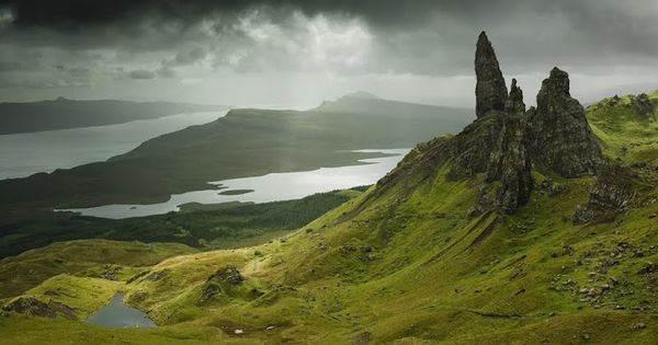 Beautiful, haunting Scottish highlands