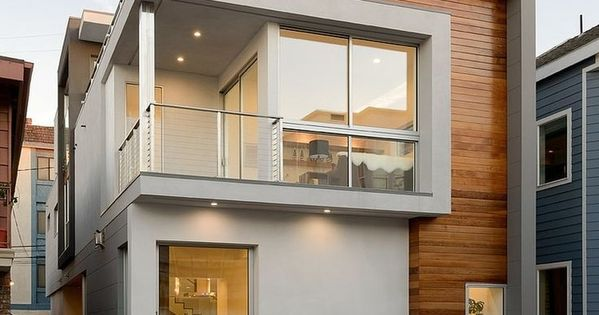 As fachadas de casas modernas s o caracterizadas por suas for Casas modernas en washington