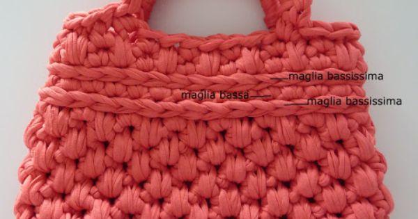 Tutorial free per borse in fettuccia all 39 uncinetto fai da for Uncinetto digitale