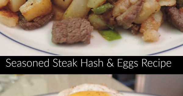 This Seasoned Steak Hash Recipe is absolutely delicious and fulfilling ...