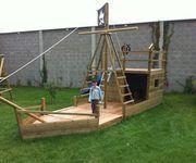 Piratenschiff Im Garten Sandkasten Piratenschiff Sandkasten Piratenschiff