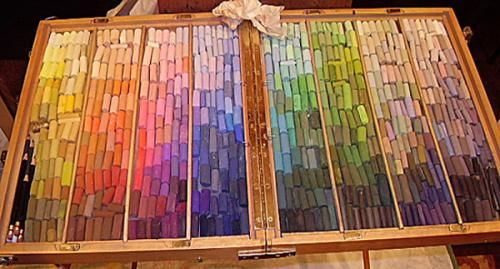 Help Please Arranging New Pastel Box Wetcanvas Art Supplies