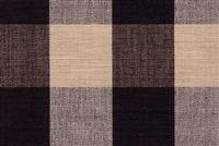 Lyme Black Natural Buffalo Check Upholstery And Drapery Fabric