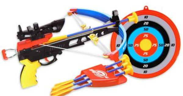 Target Toys For Boys Swords : King sport toy crossbow set with target gift idea for