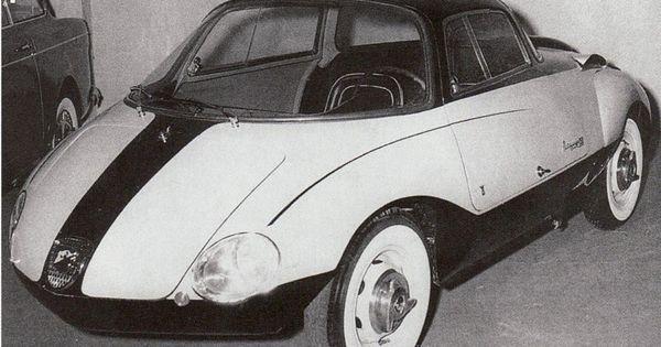 Abarth 750 Coupe Goccia Vignale 1957 Streamline Cars