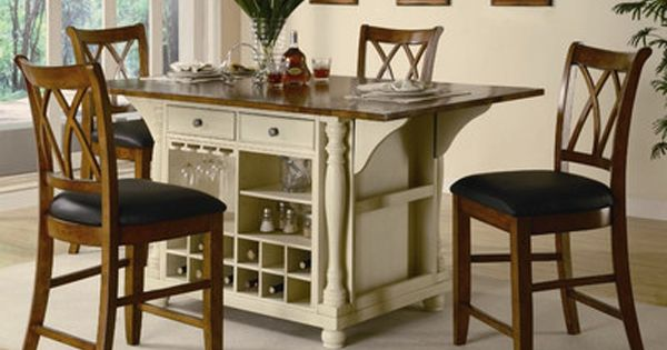 Portable Kitchen Island With Seating For 4 Furniture