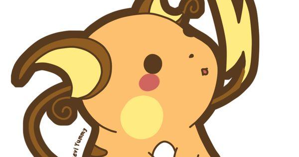 Chibi Raichu By Seviyummy Deviantart Com On Deviantart Pokemon Raichu Fanart Pokemon