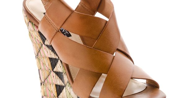 Wedge sandals - photo