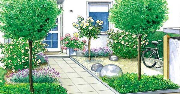 ein vorgarten wird zum gartenhof g rten gartenideen und einfahrt. Black Bedroom Furniture Sets. Home Design Ideas