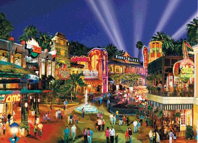 Downtown Disney, Anaheim, CA 2007 with Marty...Youth Workers ...