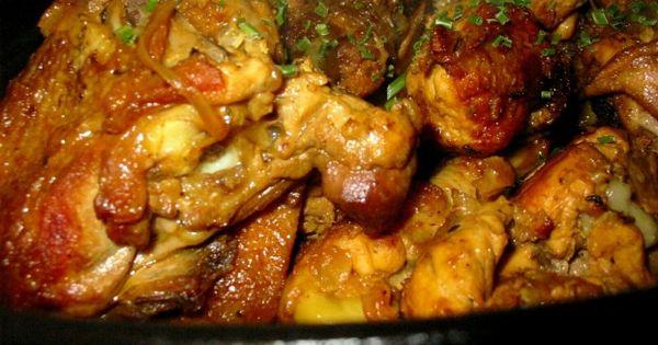 Recette mon carri poulet cr ole ile de la r union not e 4 8 5 cuisine reunionnaise - Recette de cuisine creole reunion ...