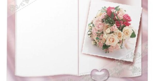 Soften Roses And Hearts Wedding Floral Love Notepad Zazzle Com Wedding Frames Wedding Picture Frames Wedding Album Design