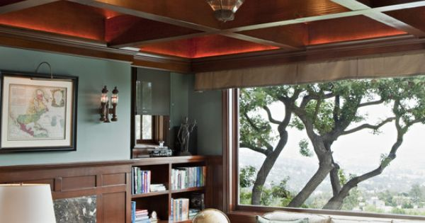 dream home office design | dream house / Traditional Home Office Design,