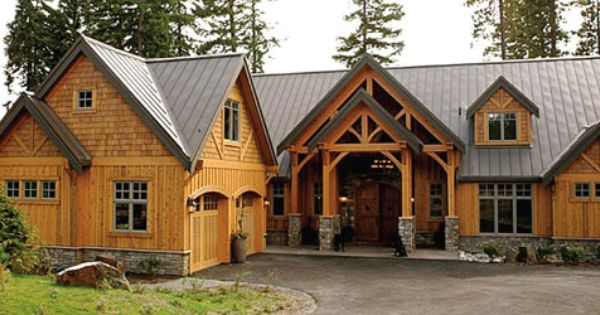 Love The Look Of This House With Cedar Siding Both Shingle