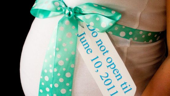 Pinterest Boy Baby Shower Ideas - cute idea for gender announcement- tag