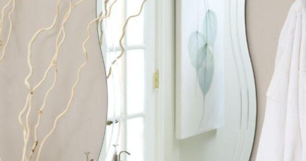 Frameless Wave Wall Mirror By Decor Wonderland Of Us Http Www Amazon Com Dp B005tvj1yg Ref Cm Sw R Pi Dp Mirror Wall Bathroom Mirror Wall Home Decor Mirrors