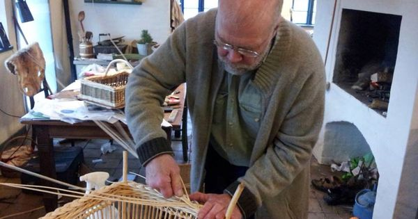 Willow Basket Weaving Dvd : Steen madsen fletter fletv?rk creative