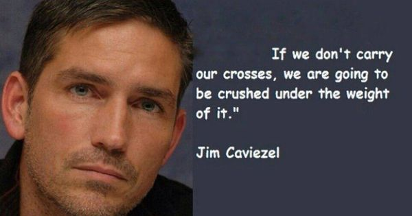 Carry Your Cross Or Be Crushed By It. It's Your Choice To