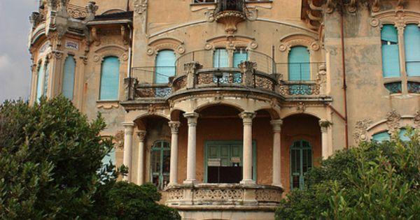 Villa liberty savona case abbandonate luoghi for Case abbandonate italia